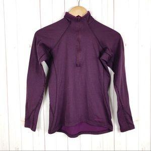 Patagonia Purple Capilene Polartec Sweater Size S
